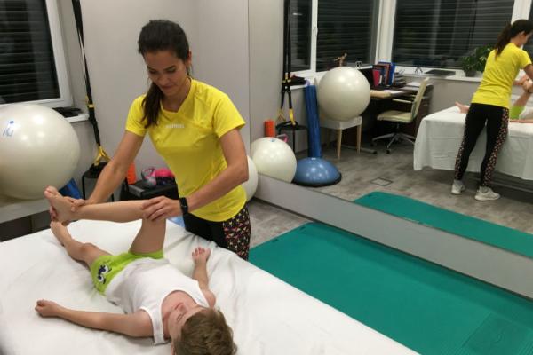 Dětská fyzioterapie Vyšetření - kyčelní kloub