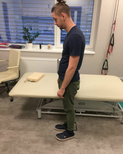 Stoj ovlivněný stresem - léčebné metody fyzioterapie Kinisi Praha